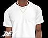 !D Simple White Tee