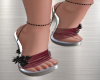GODDESS SHOES/RED