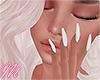 ☾ Nails white [YV]