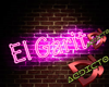 El Garito Neon Sign