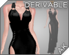 ~AK~ High Slit Gown