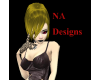 (NA) Blonde Liye Hair