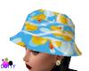 ducky rain hat