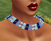 Diamond Blue Necklace