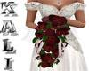 [K] Wedding Bouquet Red