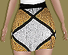 Gold&Silver Sequin Skirt