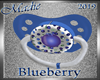 !a Blueberry Pacifier