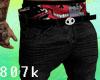 Black Jeans + Red K.