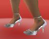 cool zilver heel shoes