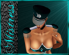 Teal and Silver Epaulets