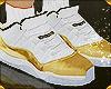 Jordans 11s Gold