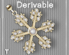 DEV-Snowflake Earrings