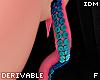 !- Tentacle earringsF