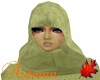 FW Green Hood w/Veil