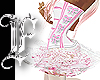 *F Baby Pink Bow Corset