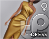 TP Gown - Golden