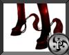 "Pvc Pony Hooves"" Red"