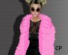.CP. Pink Fur Coat -f