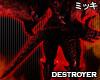 ! Crimson Destroyer Tail