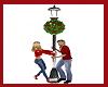 Christmas Lampost Flirt