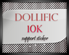 D/ 10K Support Sticker