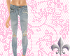[ss] Light Ripped Jeans