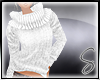 [Sev] Knit Sweater White