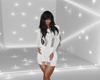 (J) White Echo Dress