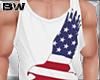 4 USA Eagle Tank Shirt