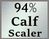 94% Calves Calf Scale MA