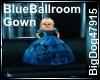[BD]BlueBallroomGown
