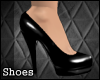 [TLZ]Black pvc pumps