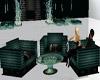 Teal Club Chairs