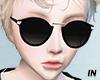 IN black glassess