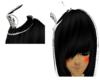 Black n white Anime Hat
