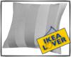 ikea grey pillow