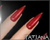 lTl Red Nails