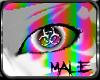 [GEL] White/Rainbw eyes