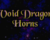 Void Dragon Horns M