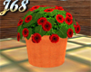 J68 Potted Plant Red