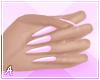 A| Long Pink Nails