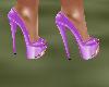 !Em LilacPinkGold Heels