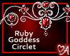Ruby Goddess Circlet