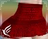 Mini Skirt Red