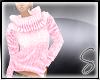 [Sev] Knit Sweater Pink