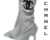 *o* chanel boots