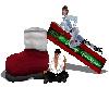 Santas Boot w 3 poses
