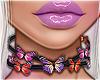 O♔ Butterfly Choker