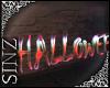 Animated Halloween Sign