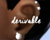 H- Pearl Earrings Multi